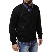 Suéter Drop Life Masculino - Masculino-Preto