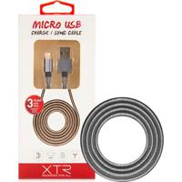 Cabo Micro Usb 1,5M Space Gray Xtrax