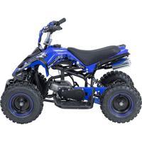 Mini Quadriciclo Bk-502 49Cc 2T Azul Bull Motors