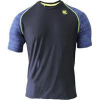 Camisa Esporte Legal Poliamida Uv45+ Raglan Mascu - Masculino