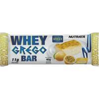 Barra Whey Grego Bar Nutrata - 12 Unids 40G - Masculino