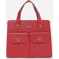 Bolsa Com Bolos Externo- Vermelha- 26X33X13Cm- Ggriffazzi