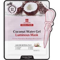 Máscara Facial Leaders - Insolution Coconut Water Gel Luminous 1 Un - Unissex-Incolor