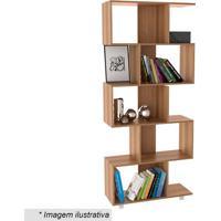 Estante Livreiro Office Plus- Castanho- 182,5X78,5X3Appunto Móveis