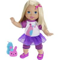 Boneca Little Mommy - Fala Comigo - Mattel - Feminino-Incolor