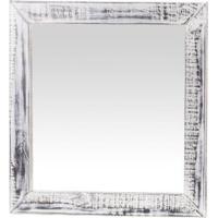 Moldura Com Espelho Madeira Estilo Demolição - Tommy Design