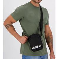 Bolsa Adidas Shoulder Linear Preta