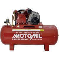 Compressor De Ar 2 Hp 175 Psi Monofásico Mav-10/200 Motomil