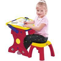 Conjunto De Artes - Play-Doh - Mesa 2 Em 1 E Lousa - Play-Doh - Fun