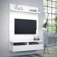 Painel Para Tv 1.2 Horizon Com Led Branco Gloss