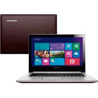 "Notebook Lenovo Z400-80C20003Br - Intel Core I5-3320M - Hd 1Tb - Ram 8Gb - Led 14"" Touchscreen - Windows 8"