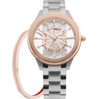 ... Relógio Technos Feminino Essence - F03101Ab K1W F03101Ab K1W - Feminino -Prata af96fc1819