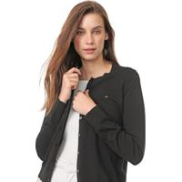 Cardigan Tommy Hilfiger Tricot Heritage Button Up Preto