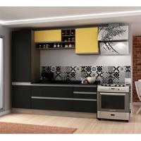 Cozinha Compacta Veneza 6 Pt 3 Gv Onix Com Maracujá
