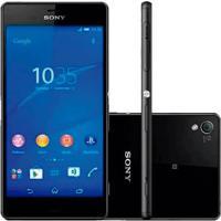 Smartphone Sony Xperia Z3 Tv Digital D6643 Preto - 4G - 16Gb - 20Mpx - Android 6.0.1 Marshmallow
