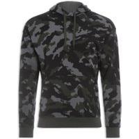 Blusa Masculina Moletom Rival Fleece Plus Camo Hd - Verde