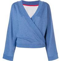 Karl Lagerfeld Moletom 'Kimono' - Azul