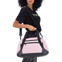 Mala Puma Gym Bag P - Feminina - 22 Litros - Rosa/Preto