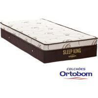 Colchão Solteiro Com Molas Superpocket Sleep King - Ortopillow - Ortobom