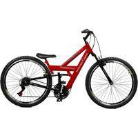 Bicicleta Master Bike Aro 26 Masculina Kanguru Style Rebaixada A-36 Vermelho