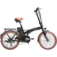 Bicicleta Elétrica Dobrável Blitz Free Aro 20 Lítio 350 W - Unissex