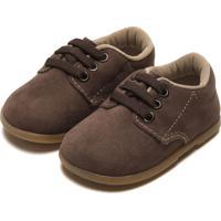 Sapato Pimpolho Menino Camurça Marrom
