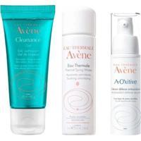 Avène Kit - Sérum Facial + Água Termal + Gel De Limpeza Kit - Unissex-Incolor