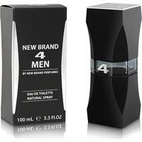 Perfume Prestige 4 Men For Men Masculino New Brand Edt 100Ml - Masculino-Incolor