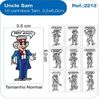 Carimbos Pedagógicos Uncle Sam - Fundamental - Kanui