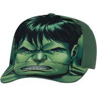 Boné Infantil Cm Imports Marvel Hulk - Verde