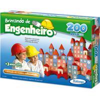 Brincando De Engenheiro 200 Pecas Xalingo - Tricae