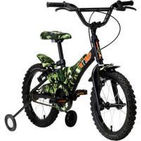 Bicicleta Groove Camuflada Aro 16 - Unissex