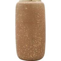 Vaso Decorativo Metalizado- Marrom & Dourado- 35Xã˜18Rojemac