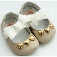 Sapato Baby Macadamia - Feminino-Bege