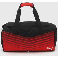 Bolsa Puma Ftblplay Small Bag Preto/Vermelho