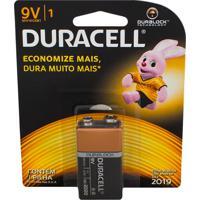 Bateria Duracell 9V Alcalina Com 1 Unidade