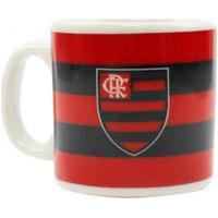 Caneca De Porcelana Flamengo 120Ml Oficial