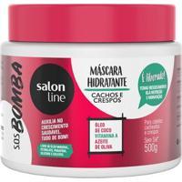 Máscara Hidratante Salon Line - S.O.S Bomba Cachos E Crespos - 500Gr - Unissex-Incolor