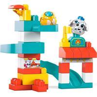 Mega Bloks Peek A Blocks Parque De Diversões - Mattel