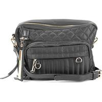Bolsa Santa Lolla Handbag Nylon Matelassê Feminina - Feminino-Preto