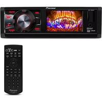 Dvd Player Automotivo Pioneer Dvh-7880Av 1 Din 3 Pol Usb Aux Mp3 Cd Wma Am Fm Rca Controle