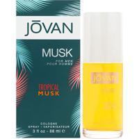 Jovan Tropical Musk De Jovan Eau De Colonia Masculino 88 Ml