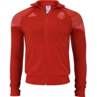 Jaqueta Real Madrid 18 19 Lic Adidas - Masculina - Vermelho 10a6f8bd9ef71