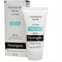 Hidratante Facial Neutrogena Fps 15 Todos Os Tipos De Pele 50Ml