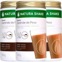 Kit Natura Shake Sabor Cacau - Nutrigold - 1650G
