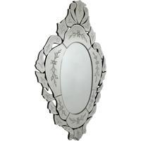 Espelho Decorativo Veneziano Oval Cannaregio