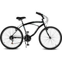Bicicleta Kyklos Aro 26 Pontal 6.4 Freio Manual 21V Preta