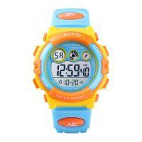 Relógio Skmei Infantil -1451- Azul E Amarelo