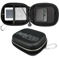 Estojo Rígido Cables Unlimited Com Alto-Falante Para Smartphone, Iphone, Ipod E Mp3/Mp4 Player - Kanui