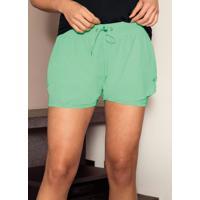 Shorts Verde Running